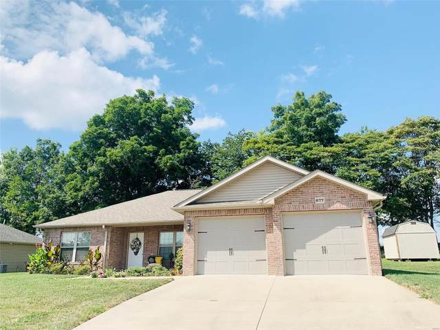 677 Hillcrest Drive, Jackson, MO 63755 (#21065920) :: Parson Realty Group