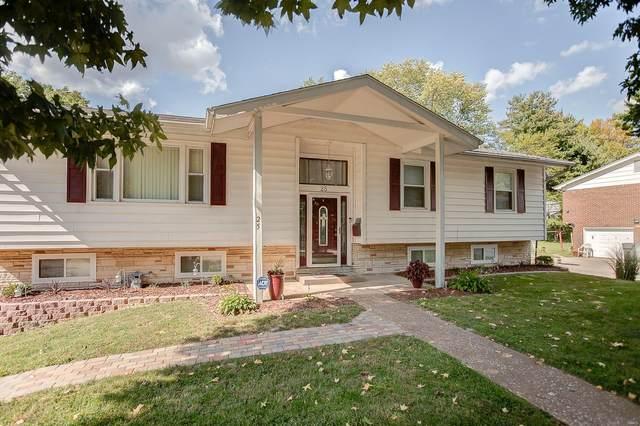 25 Saint George Drive, Belleville, IL 62221 (#21066149) :: Hartmann Realtors Inc.