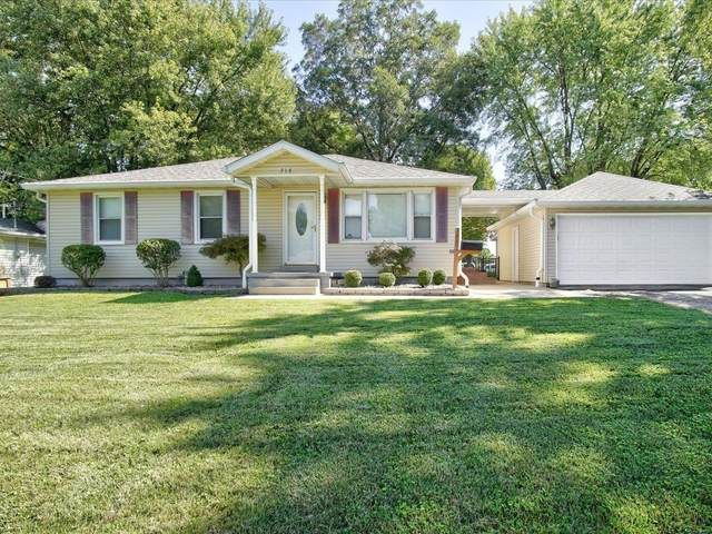 714 Greenwood, Collinsville, IL 62234 (#21066792) :: Palmer House Realty LLC