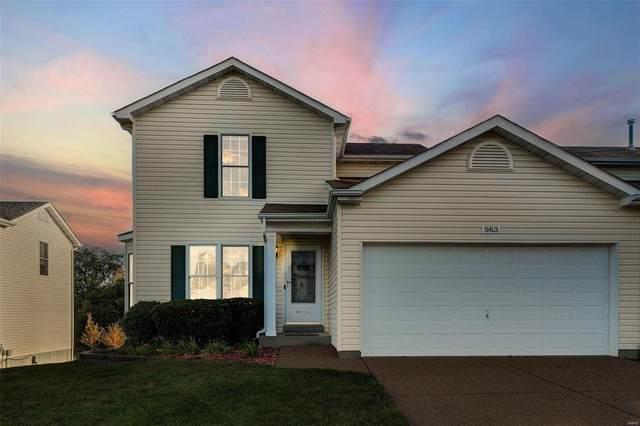 563 Donna Marie Drive, Wentzville, MO 63385 (#21066930) :: Century 21 Advantage