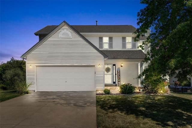134 Stone Post Lane, Wentzville, MO 63385 (#21067021) :: Clarity Street Realty