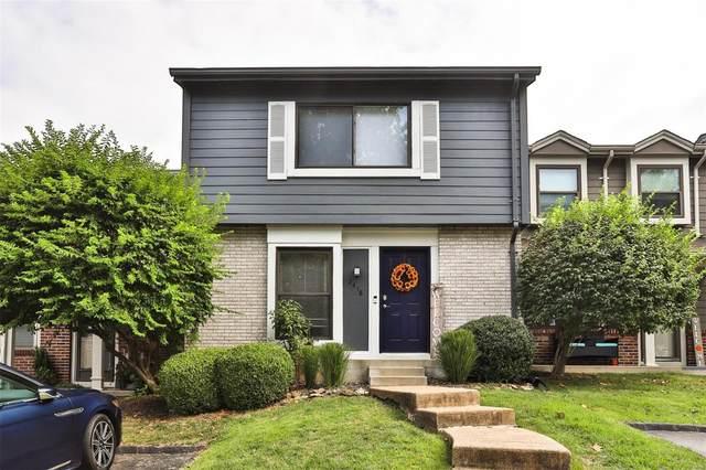 2418 Hiddencrest Lane, Ballwin, MO 63021 (#21067684) :: Reconnect Real Estate