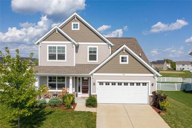 856 Bluff Ridge Lane, Shiloh, IL 62221 (#21067847) :: Parson Realty Group