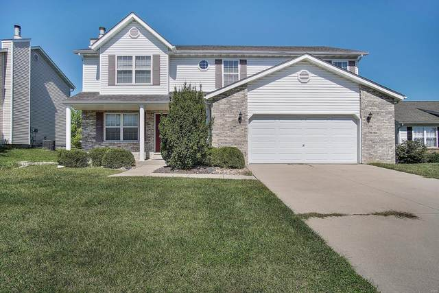 936 Silverlink, O'Fallon, IL 62269 (#21067884) :: Matt Smith Real Estate Group