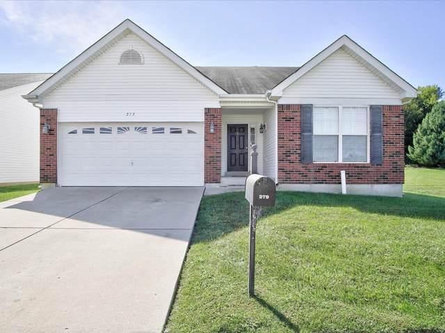 279 Fawn Oaks Lane, O'Fallon, IL 62269 (#21068184) :: Matt Smith Real Estate Group
