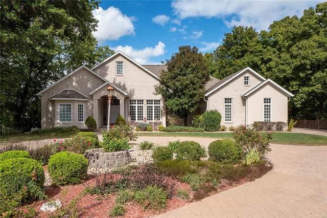 5705 Lake Briar Drive, Millstadt, IL 62260 (#21068241) :: Mid Rivers Homes