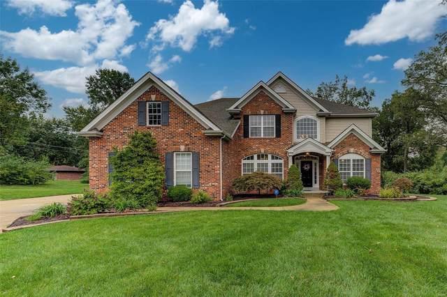 4 Marbrooke Lane, St Louis, MO 63132 (#21068423) :: Finest Homes Network