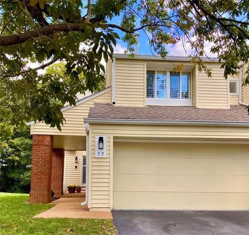 55 Ridgeview Circle Court, Ballwin, MO 63021 (#21068428) :: Jenna Davis Homes LLC