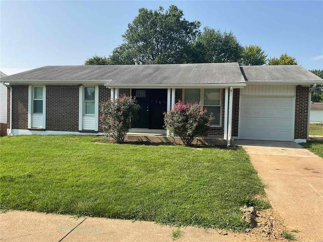 1760 Flordawn Drive, Florissant, MO 63031 (#21068443) :: Delhougne Realty Group
