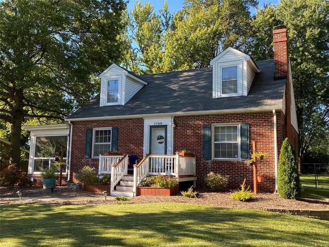 1749 W Belle Street, Belleville, IL 62226 (#21068674) :: Fusion Realty, LLC