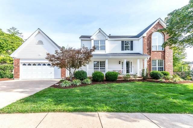 2502 Johnson Place, Ballwin, MO 63021 (#21068732) :: Jenna Davis Homes LLC