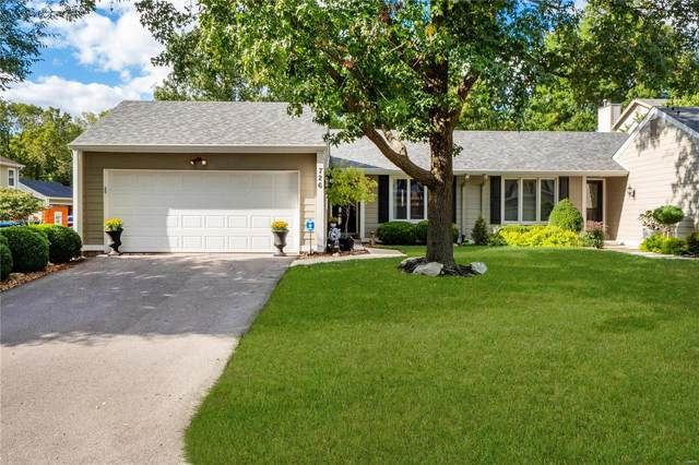 726 Turtle Cove, Ballwin, MO 63011 (#21068763) :: The Becky O'Neill Power Home Selling Team