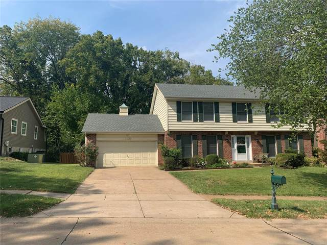 15027 Valley Ridge Drive, Chesterfield, MO 63017 (#21069121) :: Delhougne Realty Group