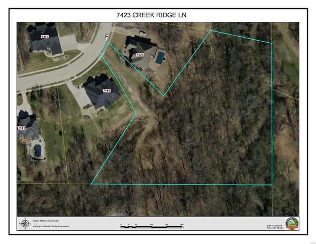 7423 Creek Ridge Lane, Edwardsville, IL 62025 (#21069174) :: The Becky O'Neill Power Home Selling Team