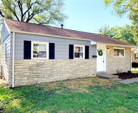 12 Briarcliff Drive, Granite City, IL 62040 (#21069271) :: RE/MAX Professional Realty