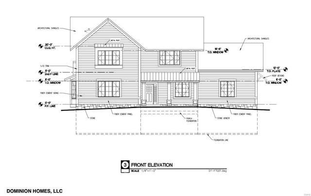 10132 Fieldcrest Lane Lot 14, Ladue, MO 63124 (#21070855) :: Delhougne Realty Group