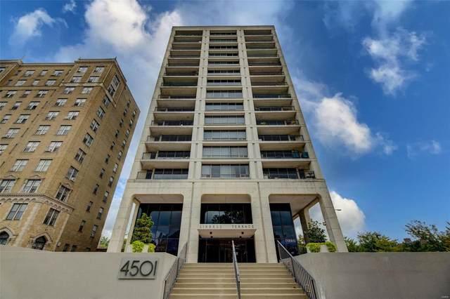 4501 Lindell Boulevard 14F, St Louis, MO 63108 (#21070997) :: Matt Smith Real Estate Group