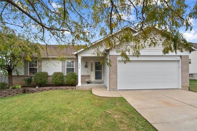 206 Wildflower Ridge Drive, Wentzville, MO 63385 (#21071124) :: Century 21 Advantage