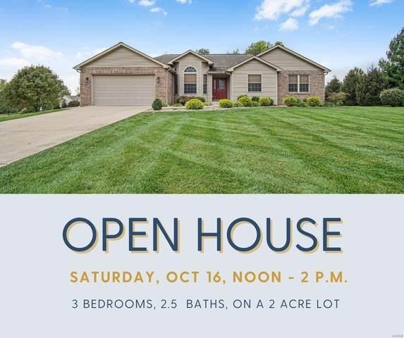 5941 Wooded Estates Lane, Edwardsville, IL 62025 (#21071478) :: Finest Homes Network