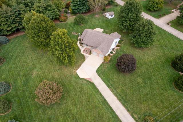 8415 E Mill Creek Road, Troy, IL 62294 (#21071551) :: Realty Executives, Fort Leonard Wood LLC