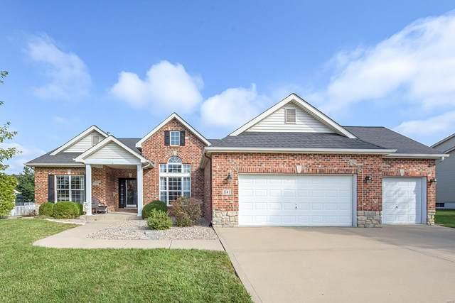 3243 Roan Hill Drive, Belleville, IL 62221 (#21071855) :: Parson Realty Group