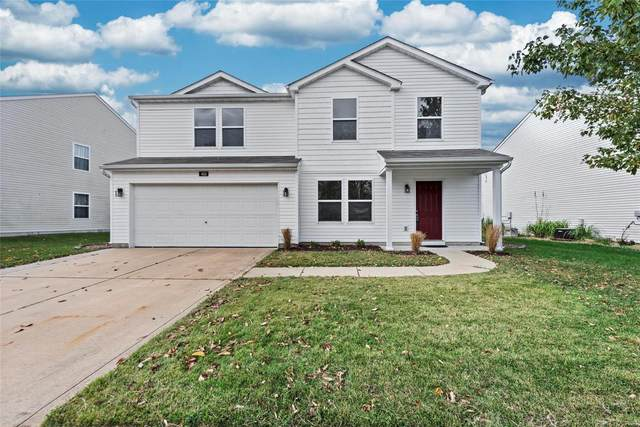 452 Falling Leaf Way, Mascoutah, IL 62258 (#21072150) :: Finest Homes Network