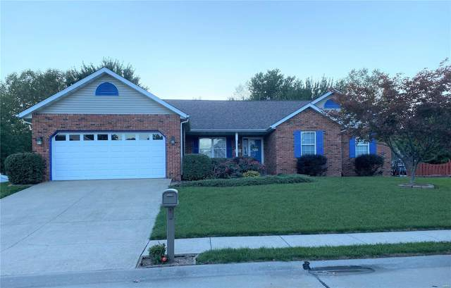 1585 Sinking Springs Drive, O'Fallon, IL 62269 (#21072739) :: Terry Gannon   Re/Max Results