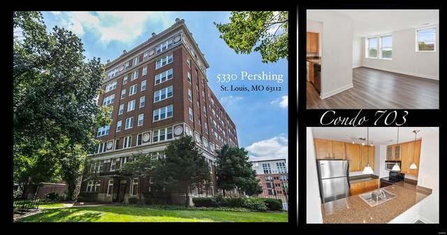 5330 Pershing Avenue #703, St Louis, MO 63112 (#21072886) :: Matt Smith Real Estate Group