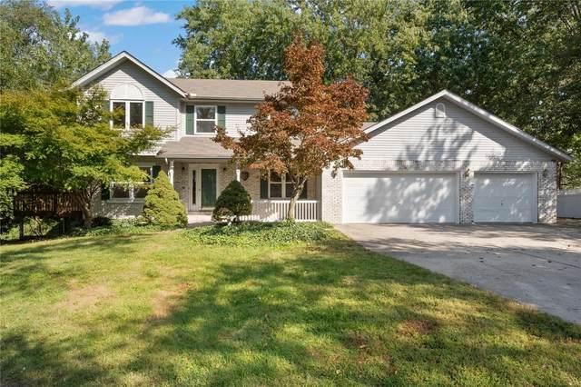 350 E Lake Drive, Edwardsville, IL 62025 (#21073139) :: Finest Homes Network
