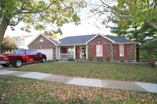 2956 Woodbridge Estates Drive, St Louis, MO 63129 (#21073262) :: Clarity Street Realty