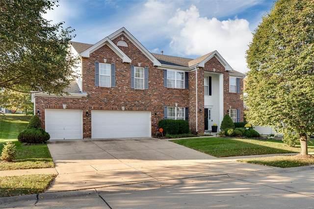 13112 Bellerive Farm Drive, St Louis, MO 63141 (#21073957) :: Matt Smith Real Estate Group