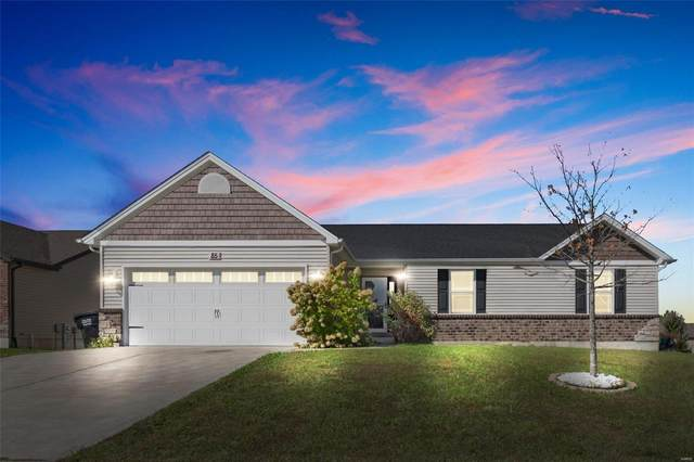 85 Brookshire Creek, Wentzville, MO 63385 (#21073971) :: Finest Homes Network