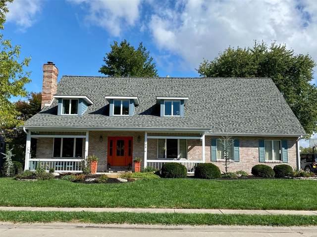 103 Pleasant Ridge Drive, Edwardsville, IL 62025 (#21074057) :: Finest Homes Network