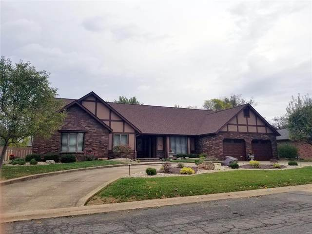 508 Whispering Oaks Drive, Bethalto, IL 62010 (#21074141) :: Mid Rivers Homes