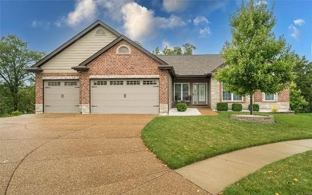 615 Castle Ridge Drive, Wentzville, MO 63385 (#21074362) :: Reconnect Real Estate
