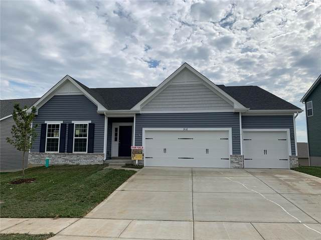 916 Ellis Park Drive, Wentzville, MO 63385 (#21074396) :: Finest Homes Network