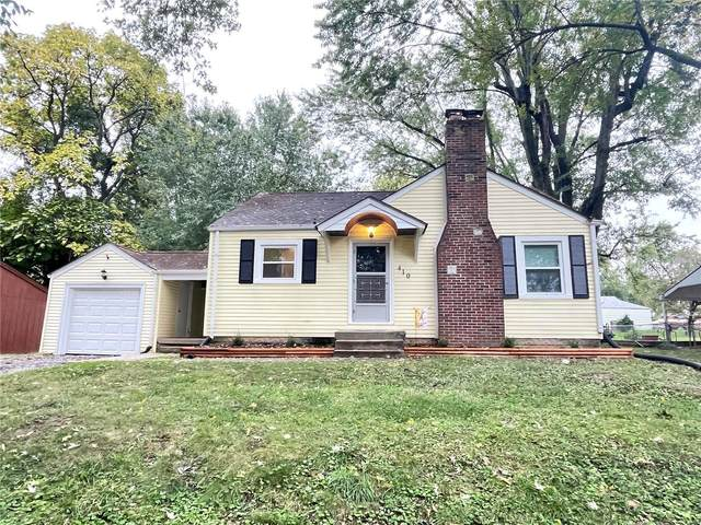 410 N 75th, Belleville, IL 62223 (#21074513) :: Fusion Realty, LLC