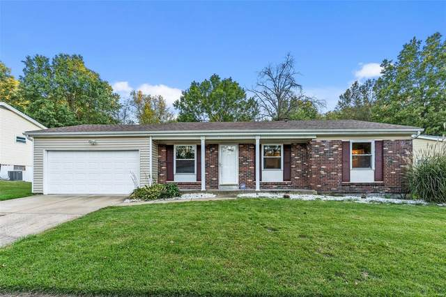 6626 Foothills Court, Florissant, MO 63033 (#21074878) :: Reconnect Real Estate