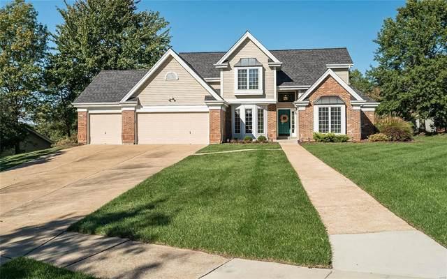 1636 Ridge Bend Drive, Wildwood, MO 63038 (#21074945) :: Delhougne Realty Group