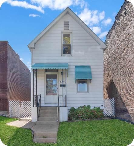 5320 Odell Street, St Louis, MO 63139 (MLS #21074997) :: Century 21 Prestige