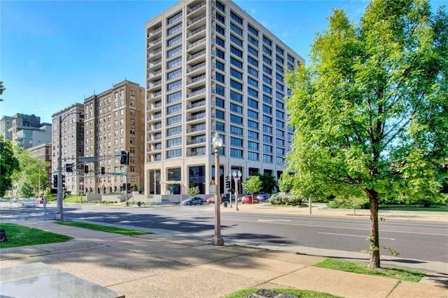 4501 Lindell Boulevard 5J, St Louis, MO 63108 (#21075517) :: Jeremy Schneider Real Estate