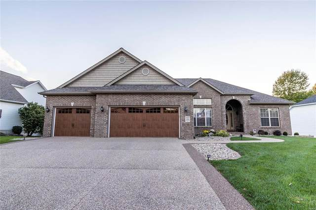 2819 Woodfield Drive, Maryville, IL 62062 (#21075821) :: Kelly Hager Group | TdD Premier Real Estate