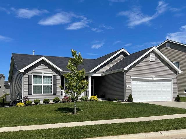 534 Leather Reins Drive, Wentzville, MO 63385 (#21075873) :: Kelly Hager Group | TdD Premier Real Estate