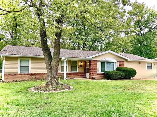 203 Barker Lane, Ballwin, MO 63021 (#21075887) :: The Becky O'Neill Power Home Selling Team