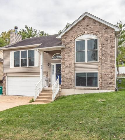 544 Winter Bluff Drive, Fenton, MO 63026 (#21075991) :: The Becky O'Neill Power Home Selling Team