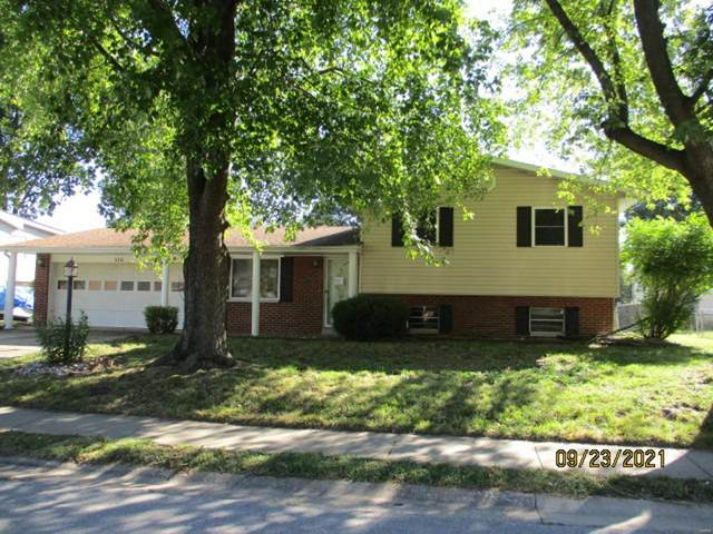 516 Joseph Drive, Fairview Heights, IL 62208 (#21075995) :: RE/MAX Professional Realty