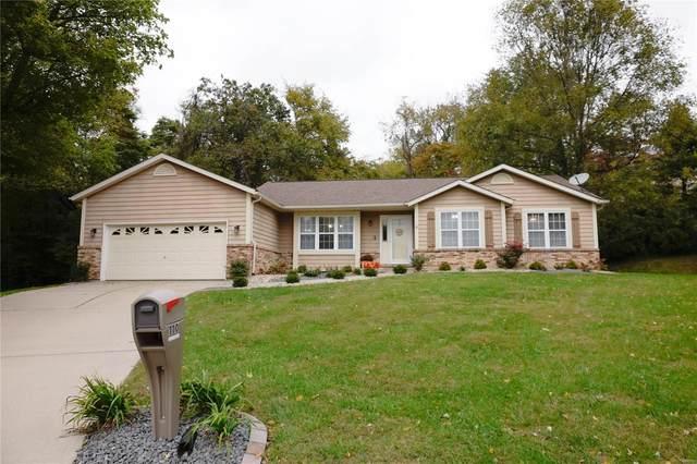 110 Woods End, Collinsville, IL 62234 (#21076279) :: Century 21 Advantage