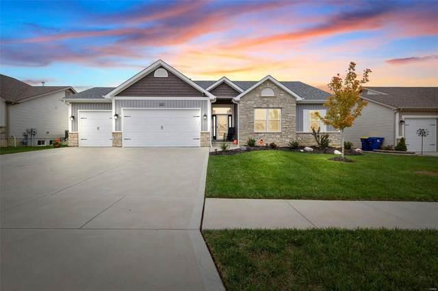 1011 Pine Creek Drive, Wentzville, MO 63385 (#21076515) :: Delhougne Realty Group