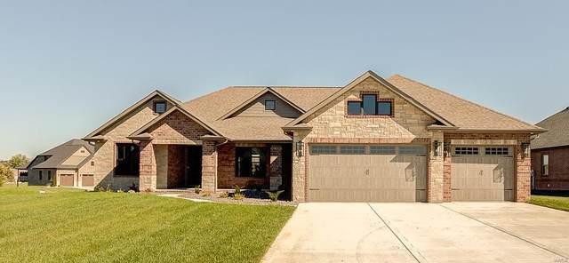 3920 Stone Hollow Lane, Edwardsville, IL 62025 (#21076742) :: Century 21 Advantage