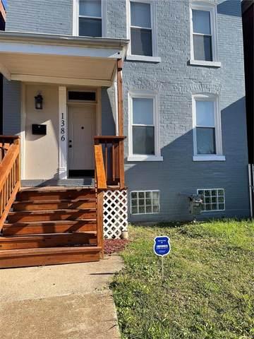 1386 Shawmut Place, St Louis, MO 63112 (#21076825) :: Delhougne Realty Group
